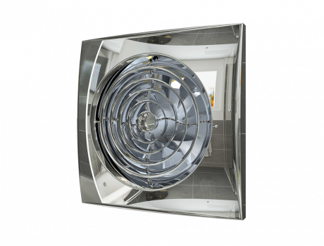 AURA 5C Chrome, Вентилятор осевой вытяжной с обратным клапаном D 125