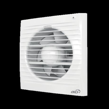 Вентилятор осевой вытяжной c обратным клапаном D 125