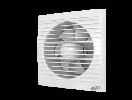 Вентилятор осевой вытяжной c обратным клапаном D 150