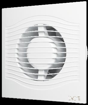 SLIM 5C, Вентилятор осевой вытяжной с обратным клапаном D 125