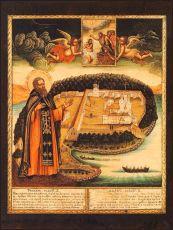 Икона Нил Столобенский преподобный