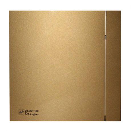 Накладной вентилятор Soler Palau SILENT-100 CZ GOLD DESIGN 4C