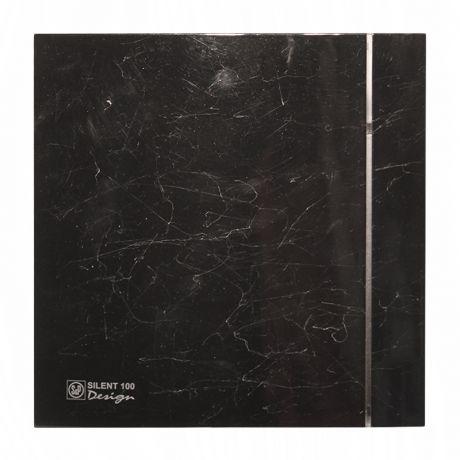 Накладной вентилятор Soler Palau SILENT-100 CZ MARBLE BLACK DESIGN 4C