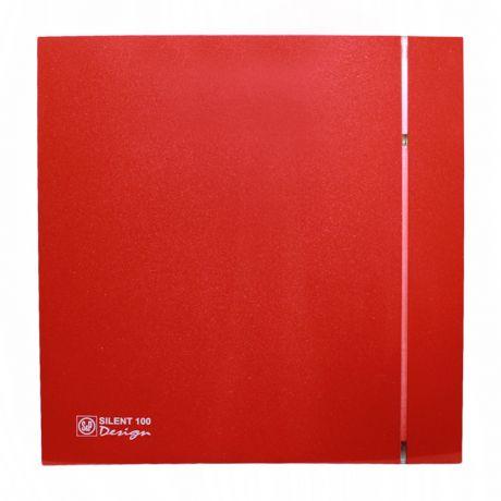 Накладной вентилятор Soler Palau SILENT-100 CZ RED DESIGN 4C