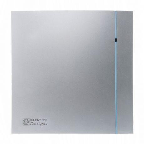 Накладной вентилятор Soler Palau SILENT-100 CZ SILVER DESIGN