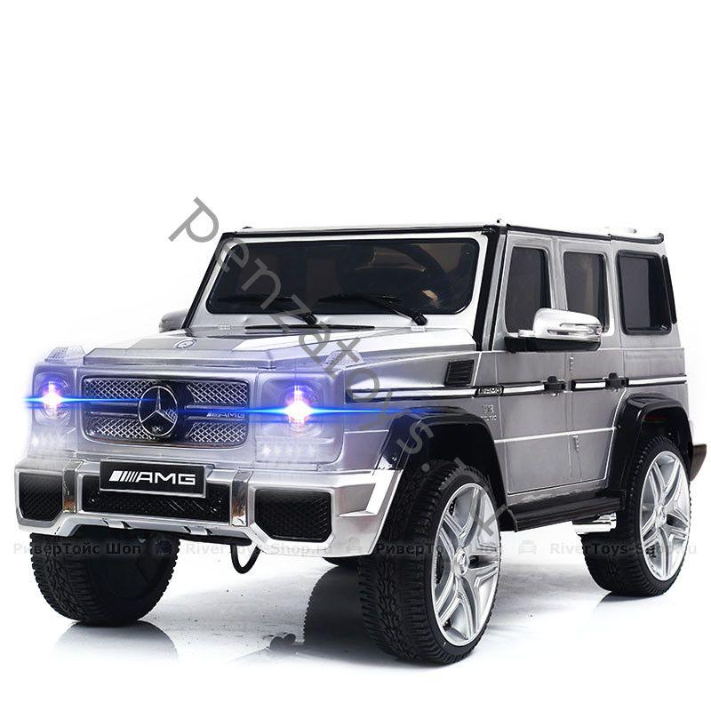 Электромобиль Детский Mercedes-Benz-G65-AMG 4*4 Лицензия