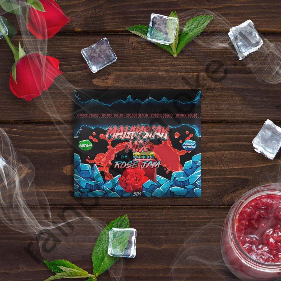 Смесь Malaysian Mix Medium 50 гр - Rose Jam (Розовое Варенье)