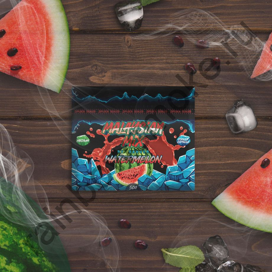 Смесь Malaysian Mix Medium 50 гр - Watermelon (Арбуз)