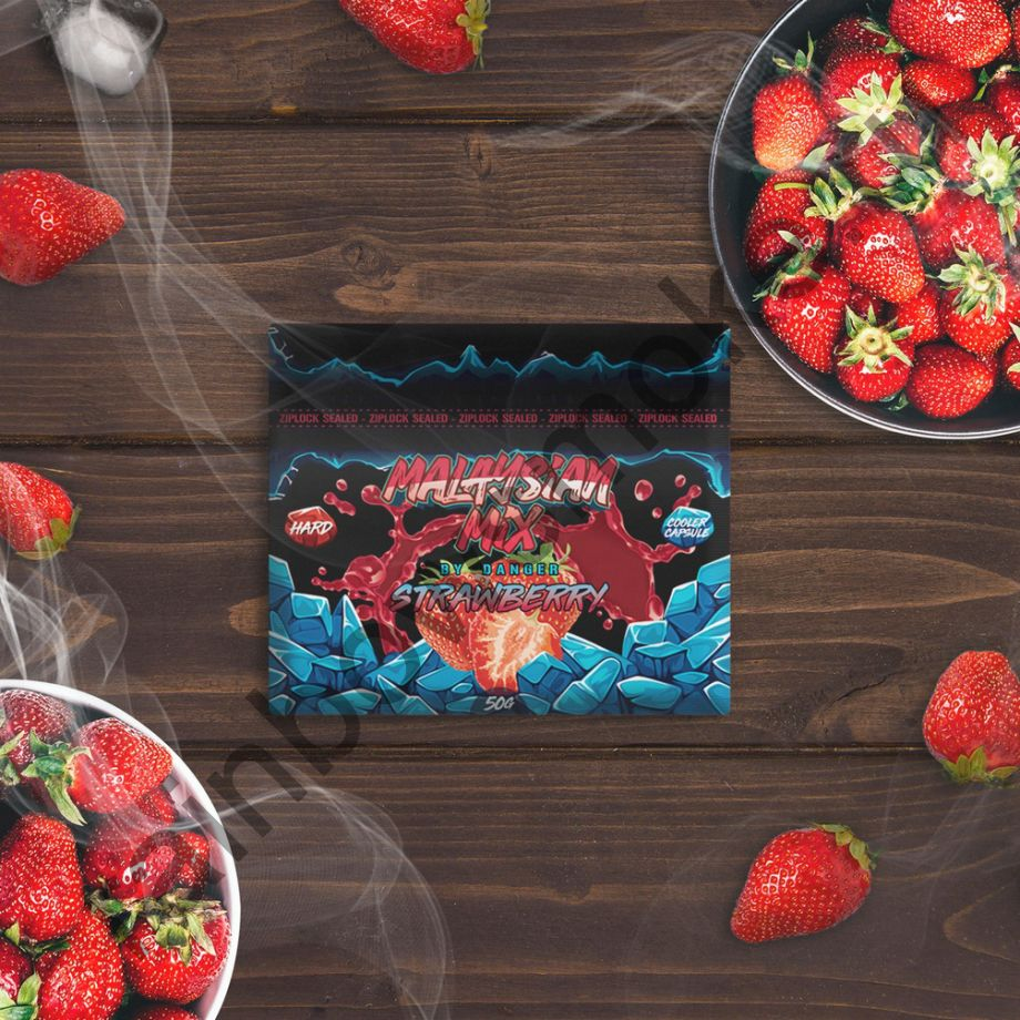 Смесь Malaysian Mix Hard 50 гр - Strawberry (Клубника)