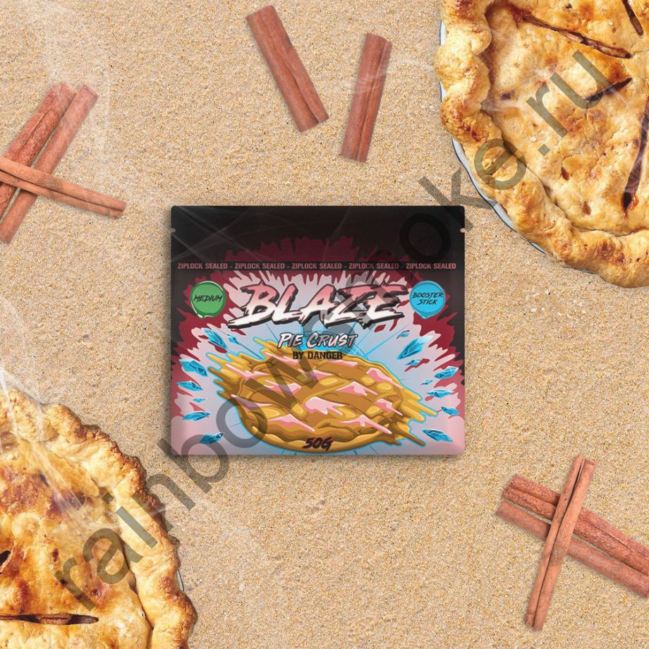 Blaze Medium 50 гр - Pie Crust (Хрустящий Пирог)