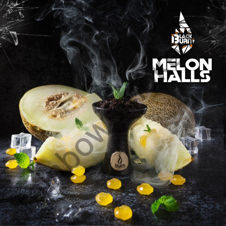 Black Burn 200 гр - Melon Halls (Дынный Холлс)