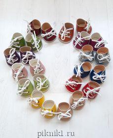 Обувь для игрушек - ботиночки малышам