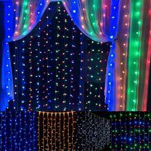 Светодиодная гирлянда Шторка 200 LED, 1,8х1,8 м