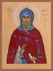 Икона Моисей Угрин преподобный