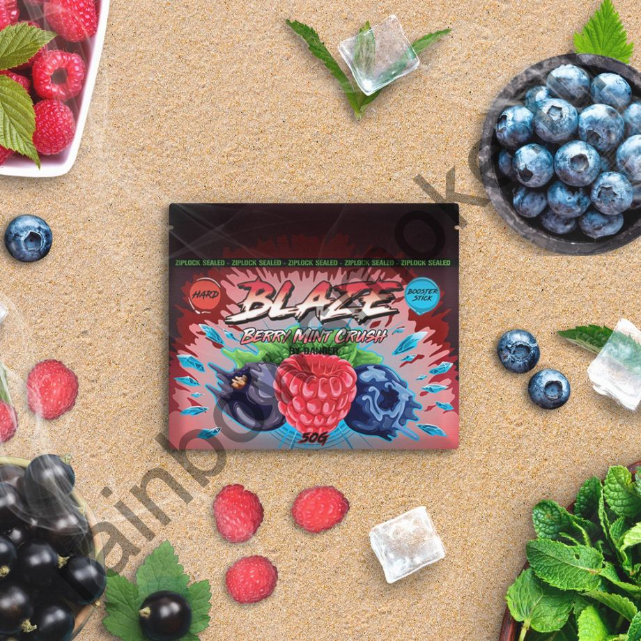 Blaze Hard 50 гр - Berry Mint Crush (Ягодно-мятный микс)