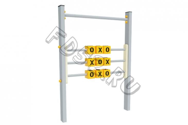 Игровая панель Крестики-Нолики 880х80х1200