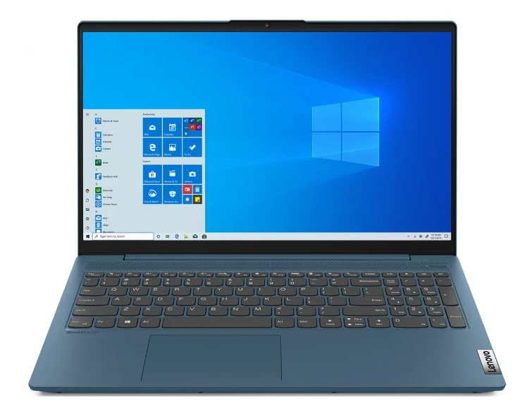 "Ноутбук LENOVO IdeaPad 5-15 (81YK001FRK) (i3-1005G1/8Gb/SSD 256Gb/Intel UHD Graphics/15,6"" FHD/IPS/BT Cam/No OS) Светло-бирюзовый"