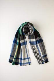 теплый широкий двусторонний  шарф (двойное полотно) тартан клана Кэмпбелл из Аргайла CAMPBELL OF ARGYLE DRESS EXPLODED ,плотность 7