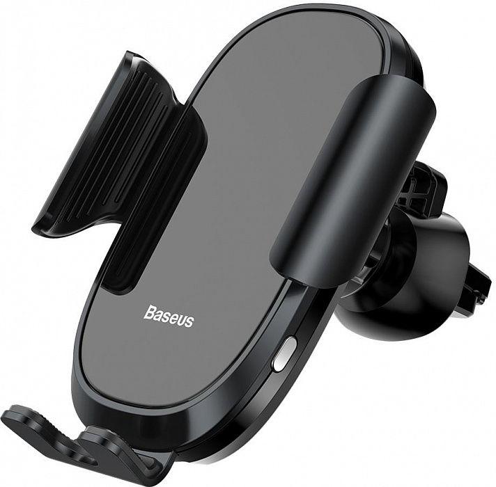 Автомобильный держатель Baseus Smart Car Mount Cell Черный (SUGENT-ZN01)