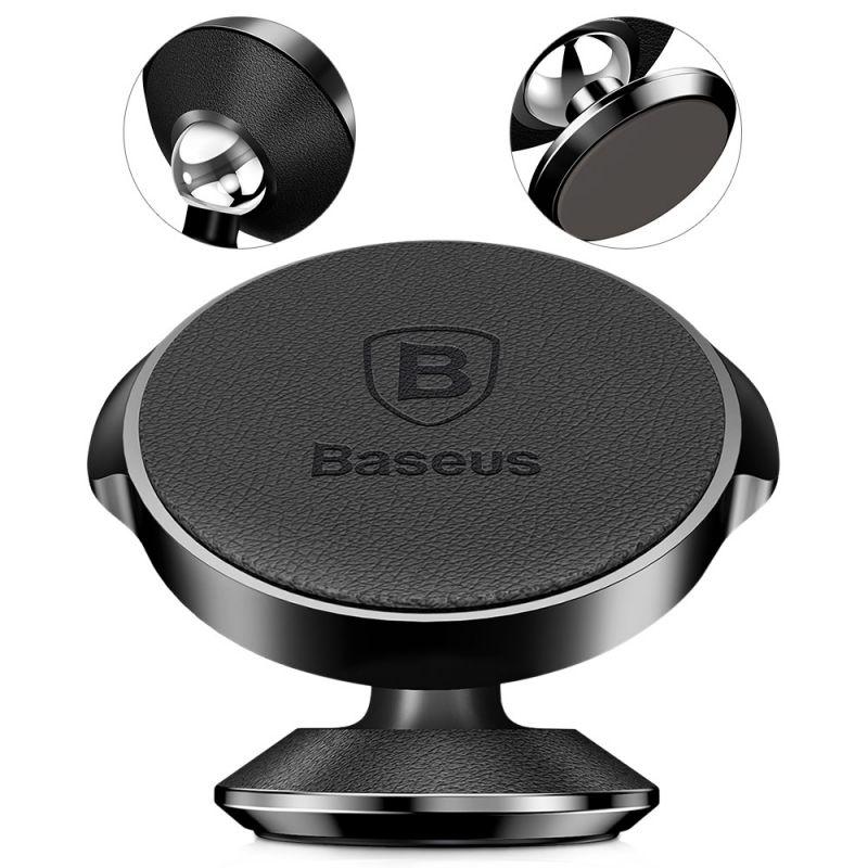 Магнитный держатель Baseus Small Ears Series Magnetic Suction Bracket Чёрный (SUER-F01)