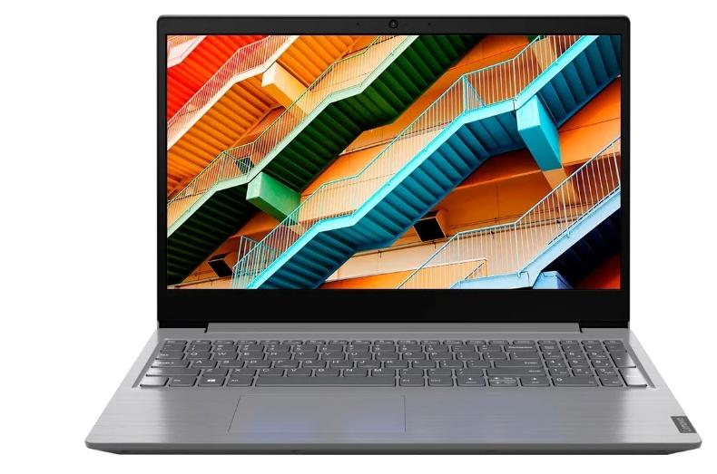 Ноутбук LENOVO V15 (81YD0019RU) (i3-8130U/4Gb/SSD 128Gb/Intel UHD Graphics 620/15,6 FHD/BT Cam/No OS) Серый