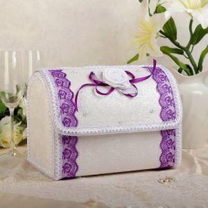 Коробка для денег «Альт», фиолет, разборная 3183837