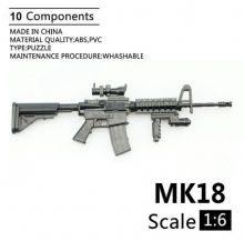 Сувенирная сборная модель Штурмовая винтовка Mk 18 mod 1 1:6