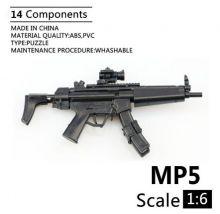 Сувенирная сборная модель Пистолет-пулемет Heckler&Koch MP5 1:6