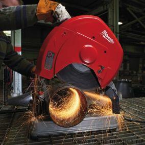 Пила отрезная профессиональная по металлу 2,3 кВт диск 355 / 25,4 мм CHS 355 MILWAUKEE 4933411760