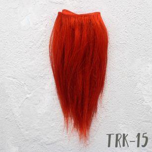 Тресс натуральный прямой (козочка) рыжий прямой