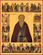 Икона Корнилий Александровский преподобный