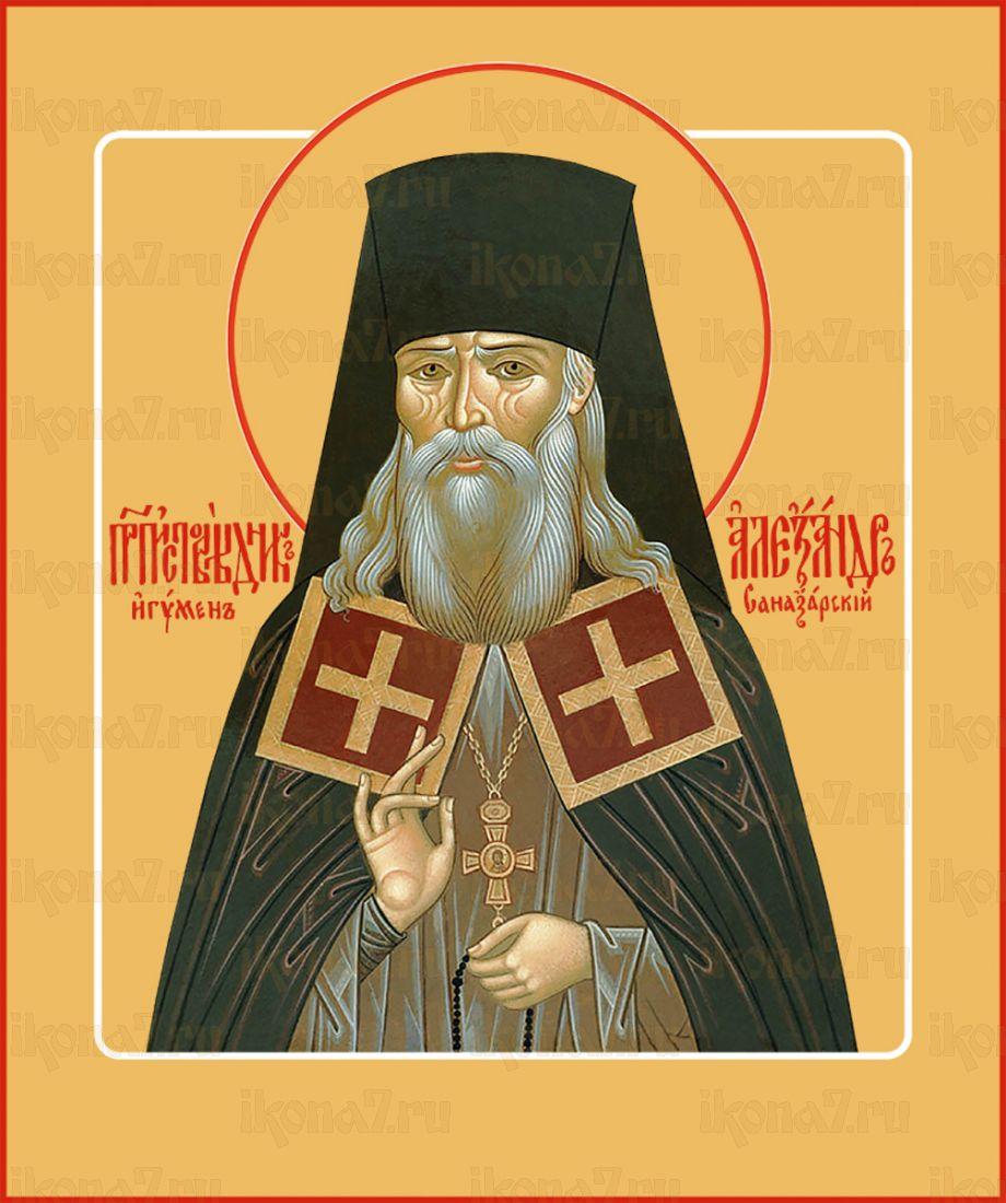 Икона Александр Санаксарский преподобный