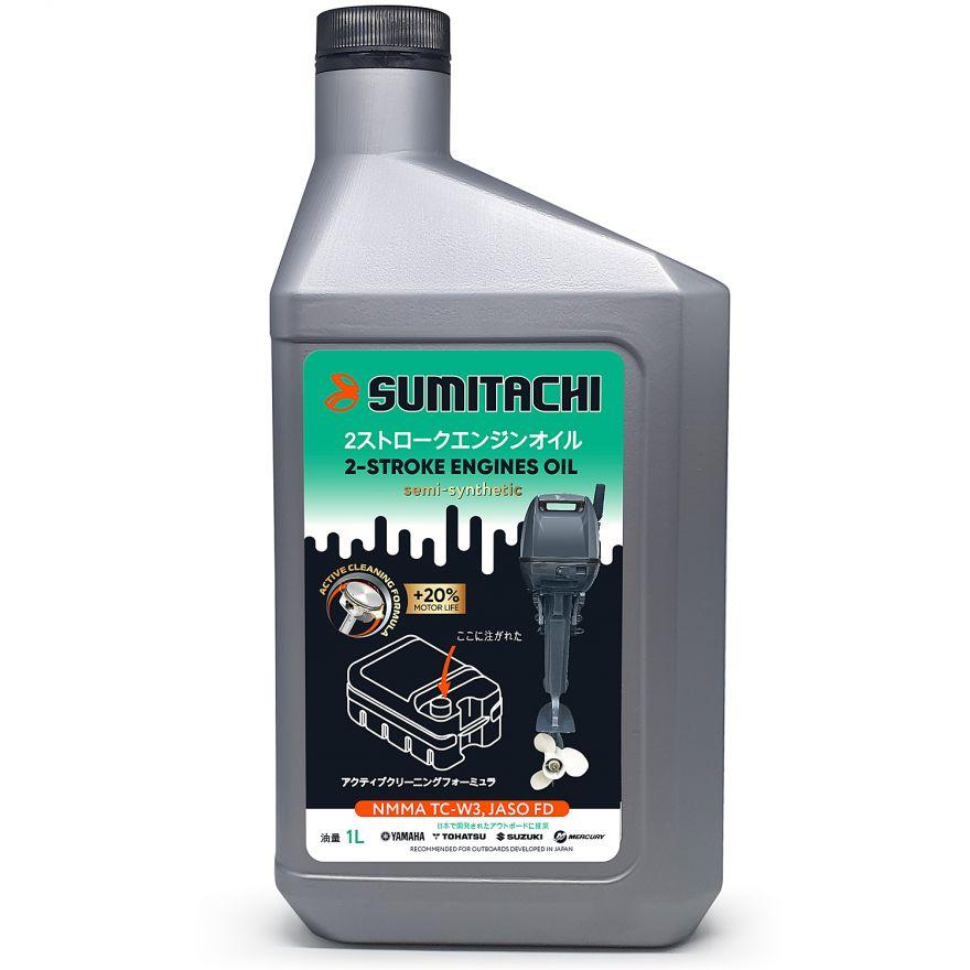 Масло полусинтетичкеское моторное Sumitachi 2Т