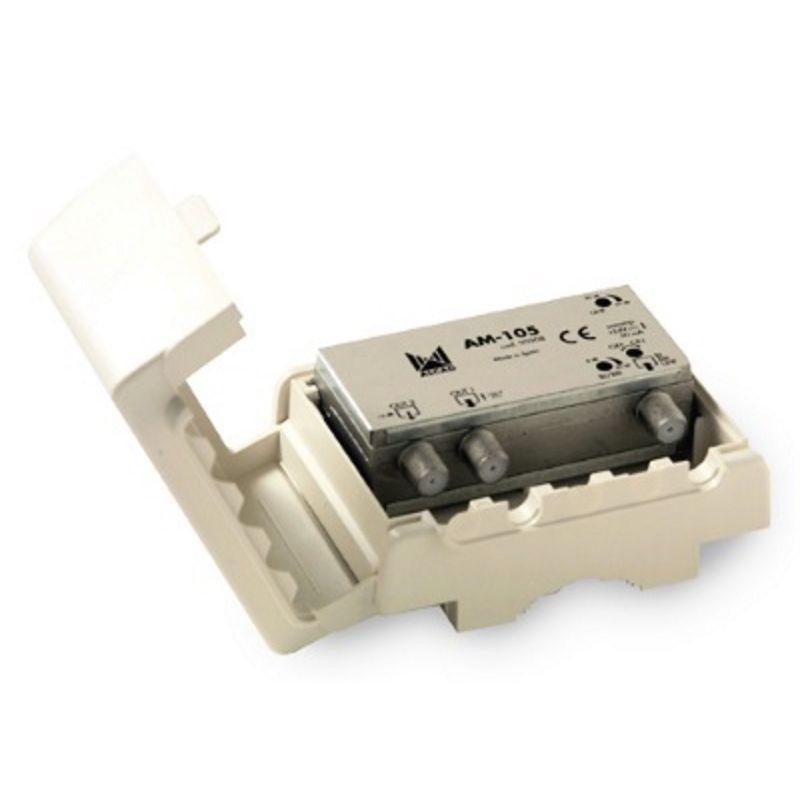 Антенный усилитель мачтовый ДМВ ALCAD AM-105