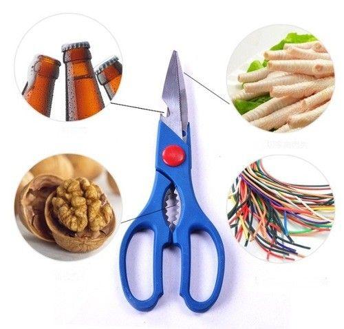 Многофункциональные кухонные ножницы из нержавеющей стали 8 в 1
