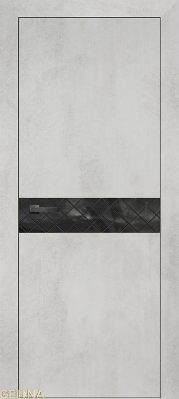 Двери GEONA LIGHT коллекция Lumio (толщина полотна 44мм)LUMIO-A (кромка хром/черный/белый)