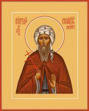 Икона Сергий Синайский преподобномученик
