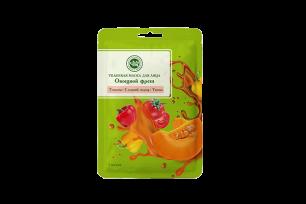 Тканевые маски для лица SUPERFOOD КОМПЛЕКТ (Овощной фреш (Тыква, Сладкий перец, Томат)