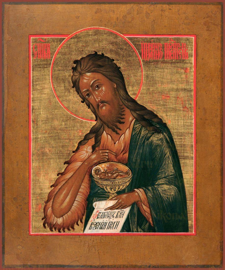 Икона Иоанн Креститель пророк