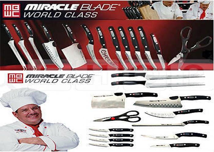 Набор ножей MIRACLE BLADE WORLD CLASS (МИРЕКЛ БЛЕЙД)