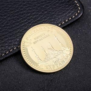 Сувенирная монета «Астана», d= 4 см