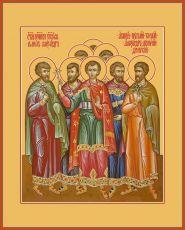 Икона Собор святых мучеников Кесарийских