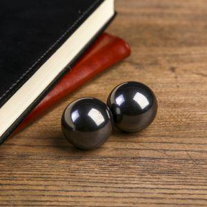 """Магнитные шары """"Чёрные"""" набор 2 шт d=3 см   4098255"""
