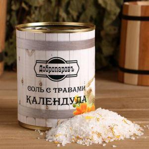 """Соль для бани с травами """"Календула"""" в банке 5101939"""