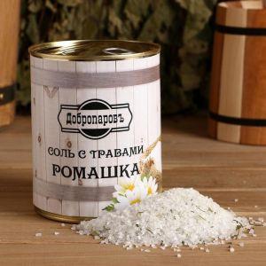 """Соль для бани с травами """"Ромашка"""" в банке 5101938"""