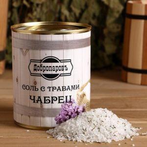 """Соль для бани с травами """"Чабрец"""" в банке 5101937"""