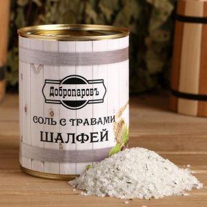 """Соль для бани с травами """"Шалфей"""" в банке 5101940"""