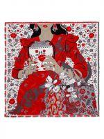 Платок ELEGANZZA D34-1223 Красный