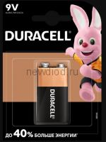 Алкалиновая батарейка LR-9V DURACELL