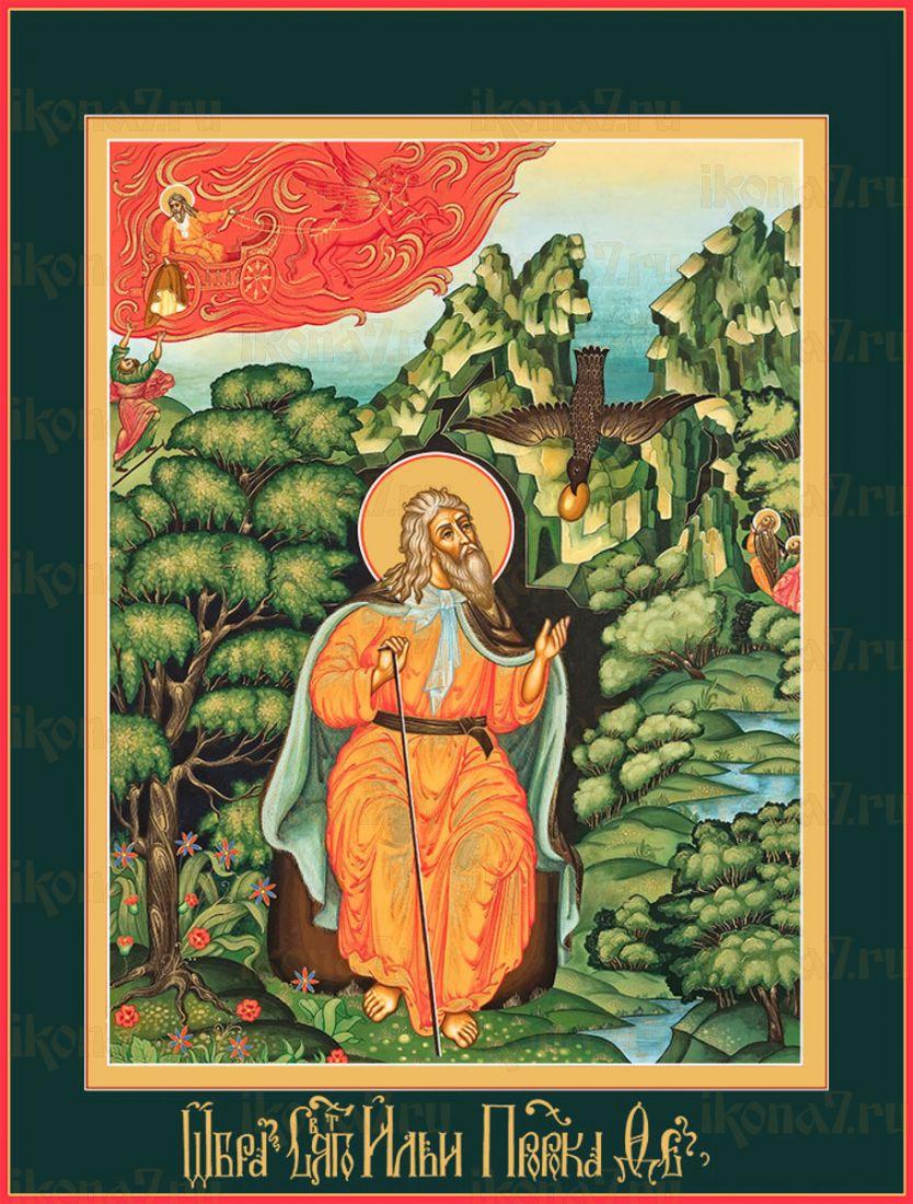 Икона Кормление святого пророка Илии вороном